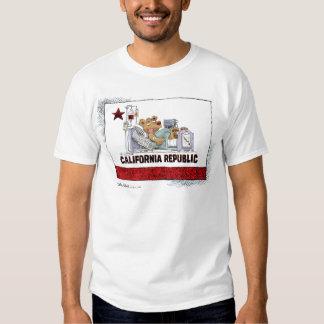 California está enferma camisas