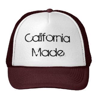 California hizo, gorra del camionero