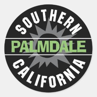 California meridional - Palmdale Pegatina Redonda