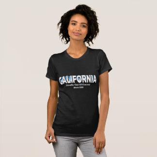 California orgulloso fuera de control desde 1850 camiseta