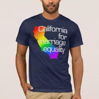 California para la camiseta de la igualdad de la