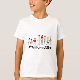 CaliforniaSibs embroma la camiseta