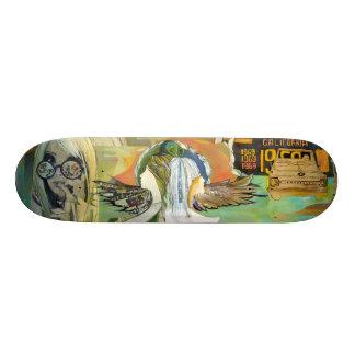 CaliMoon Skatedeck Monopatín 18,1 Cm
