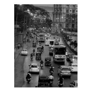 Calle de B&W Bombay Postal