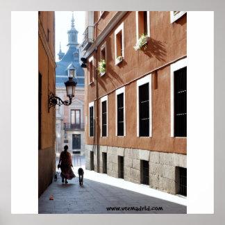 Calle de El Codo, Madrid Póster