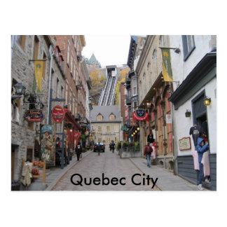 Calle de la ciudad de Quebec Postal