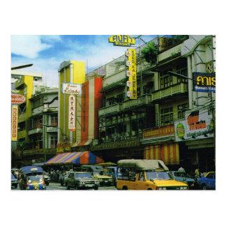 Calle de la ciudad de Tailandia, Bangkok Postal