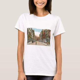 Calle de Mott, CHINATOWN, New York City (vintage) Camiseta