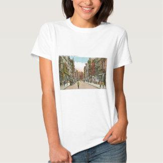 Calle de Mott, CHINATOWN, New York City (vintage) Camisetas