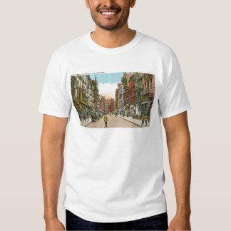 Calle de Mott, Chinatown, Nueva York Camisetas