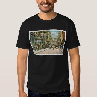 Calle de Pell (CHINATOWN), New York City (vintage) Camisas