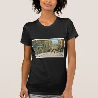 Calle de Pell (CHINATOWN), New York City (vintage) Camiseta