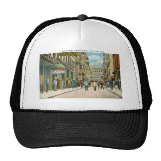 Calle de Pell (CHINATOWN), New York City (vintage) Gorros