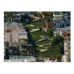 Calle del lombardo en San Francisco Américas Crook Tarjetas Postales