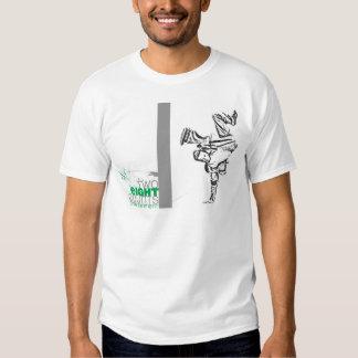 Calle dos 8-Counts Camisetas