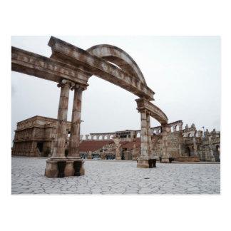 Calle romana postal