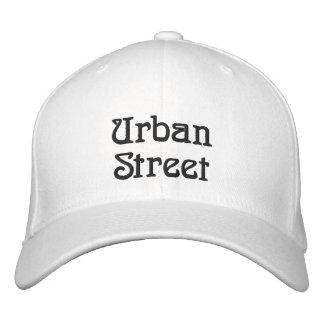 Calle urbana gorra de béisbol bordada