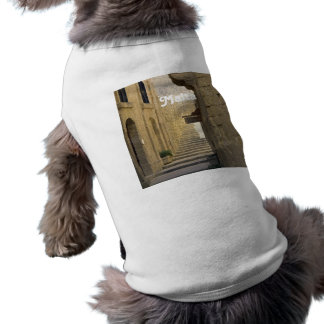 Callejones de Malta Camiseta Sin Mangas Para Perro