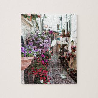 Callejones de Windows, del balcón y de la flor en Puzzle