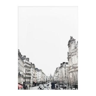 Calles de París - impresión de acrílico - Elodie