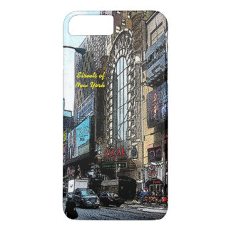 Calles del caso más del iPhone 7 de Nueva York Funda iPhone 7 Plus