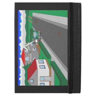 Calles y construcción de casa
