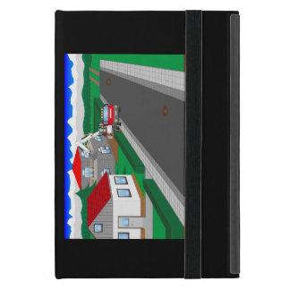 Calles y construcción de casa iPad mini cobertura