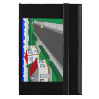 Calles y construcción de casa iPad mini coberturas