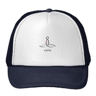 Calma - estilo de lujo negro gorras