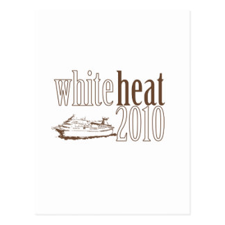 Calor blanco postales
