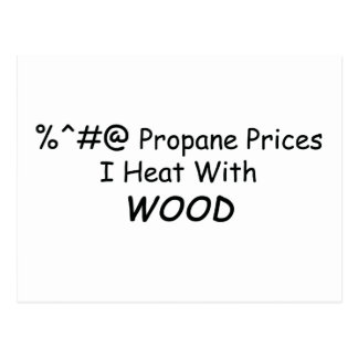 Calor de los precios I del propano de %^&@ con el  Postal
