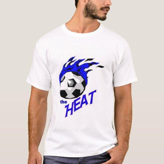 calor del equipo camiseta