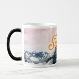 Calor que cambia la taza de SWJ