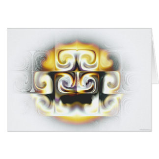 calor tarjeta de felicitación