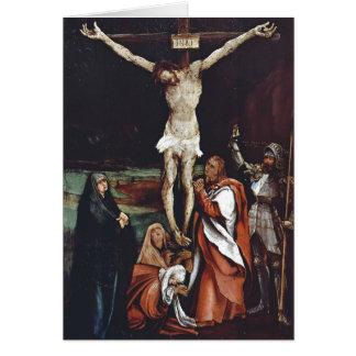 Calvary de Matías Grünewald- Tarjeta De Felicitación
