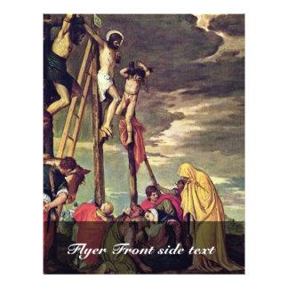 Calvary de Veronese Pablo (la mejor calidad) Folleto 21,6 X 28 Cm