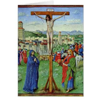 Calvary por el amo del libro de oración de Turín-M Felicitaciones