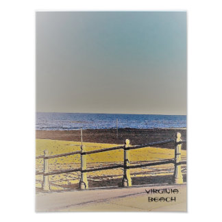 Calzada de la playa de Viginia Foto