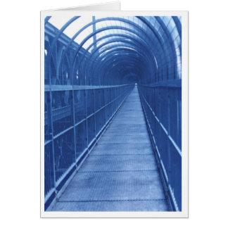 Calzada del puente tarjeta