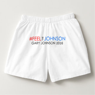 Calzoncillos Boxeadores de Gary Johnson 2016 del