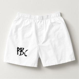 Calzoncillos Colección de Peter Bayfield - boxeadores blancos