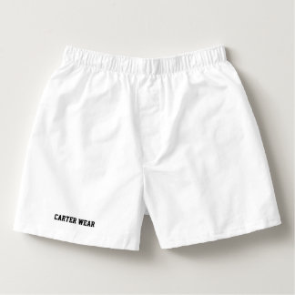 Calzoncillos Desgaste de Carretero - boxeadores del algodón de