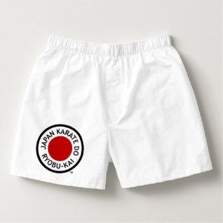 Calzoncillos El karate de Japón hace a los boxeadores para