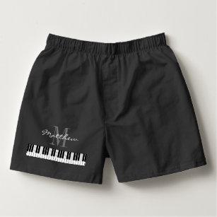 Calzoncillos El piano lindo cierra la ropa interior de los