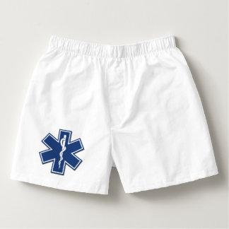 Calzoncillos Estrella activa del paramédico del ccsme EMT de la