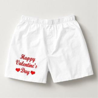 Calzoncillos Pantalones cortos rojos del boxeador de los