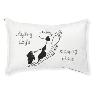 Cama del perro de la agilidad