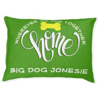 Cama grande de la almohada del perro