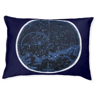 Cama meridional del mascota de las constelaciones