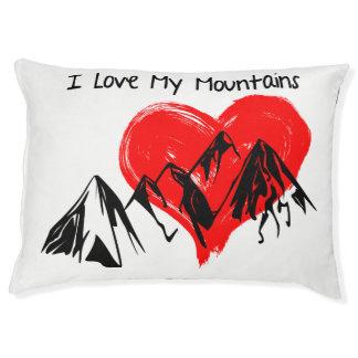 Cama Para Mascotas ¡Amo mis montañas!